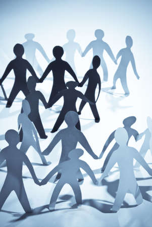 community of people holding on hands photo