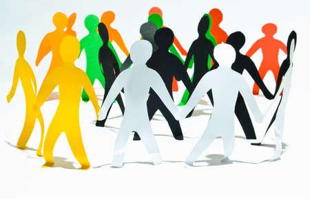 community group: Comunidad de personas que mantiene en manos