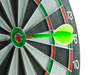 Dartboard target and dart photo