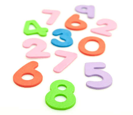 numbers Stock Photo - 7409726