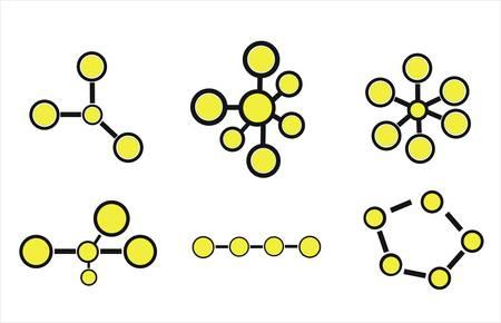 water molecule: Iconos de la mol�cula