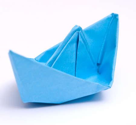 Paper ship photo