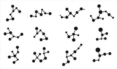 Molecule icons Stock Vector - 8100111