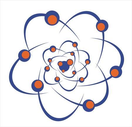 molecule icon: Molecule icon Illustration