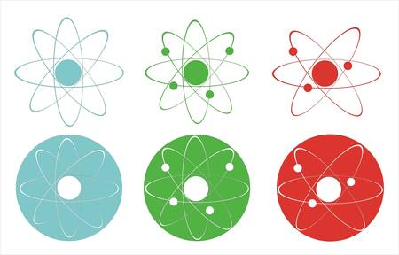 Molecule icons  Stock Vector - 8962384