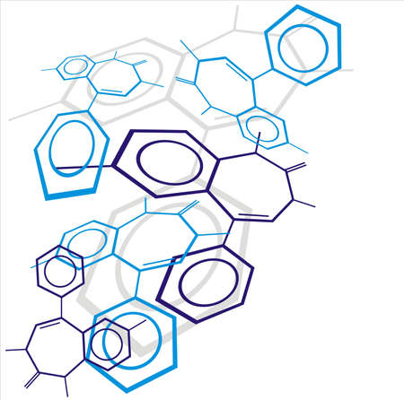 molecula: Fondo de mol�cula