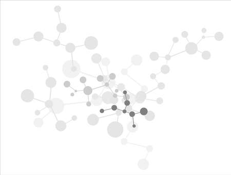 Molecule background Stock Photo - 9815067