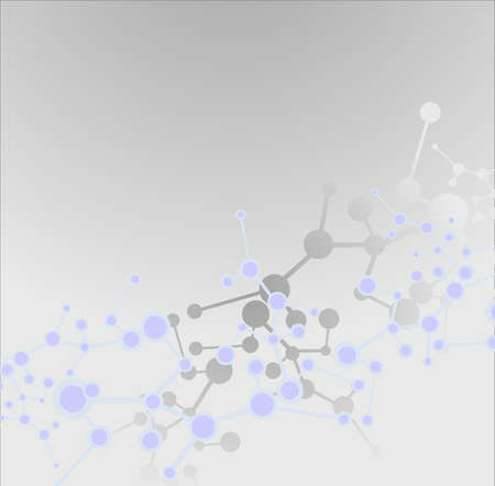 Molecule background Stock Photo - 9815071