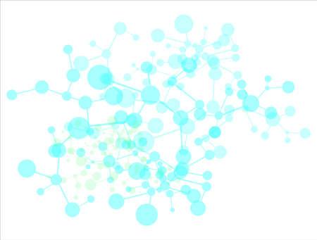Molecule background Stock Photo - 9815066