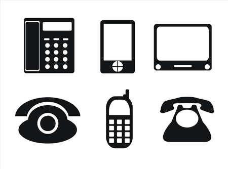 phone icons photo