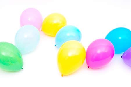 Ballons on the white background Stock Photo - 11118786