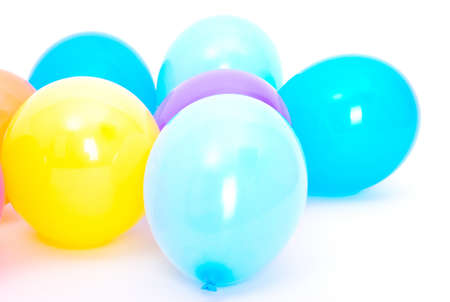 Ballons on the white background Stock Photo - 11118787