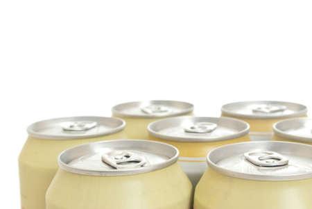 aluminium cans  photo