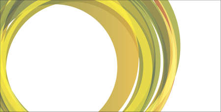 abstract banners with circles photo