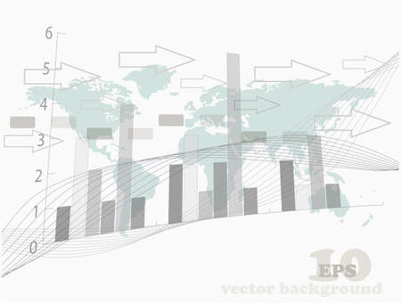 abstract business background, vector illustration illustration