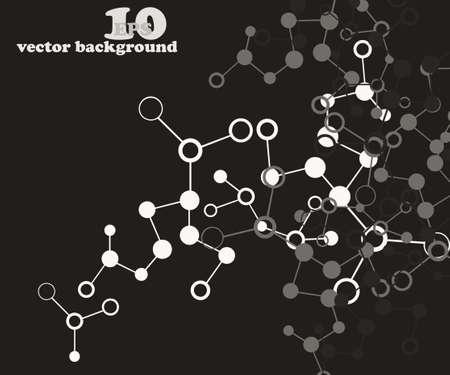 Molecule background photo