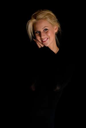 Beautiful pretty woman  Stock Photo