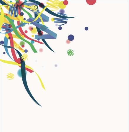 Confeti aislado en un fondo blanco Foto de archivo - 12412052