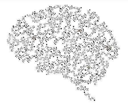 menschliche Gehirn Lizenzfreie Bilder