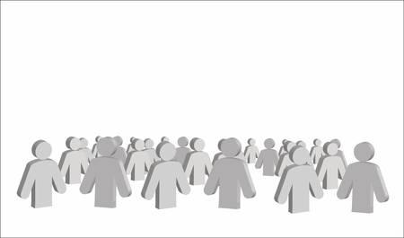 figuras humanas: figuras humanas Vectores