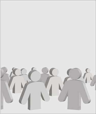 human figures Stock Vector - 13197968