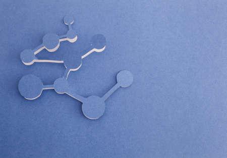 Molecule origami Stock Photo - 15365627