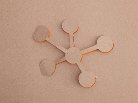 Molecule origami photo