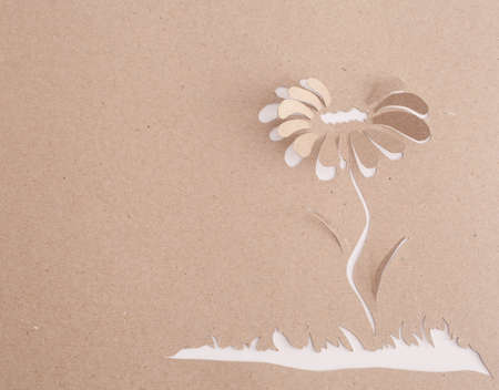 Origami flower photo