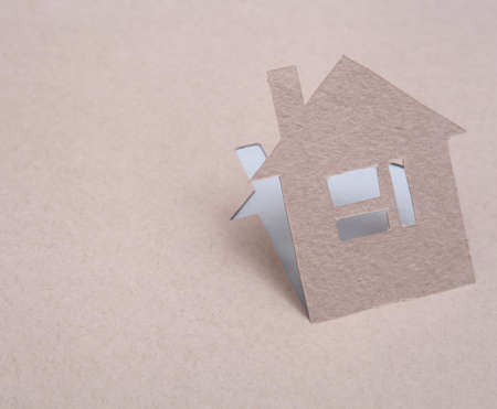 Paper house Stock Photo - 15446999