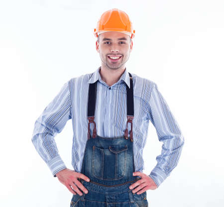A builder man Stock Photo - 16657475