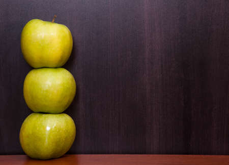 Classroom chalkboard with apples. Stock Photo - 19290074