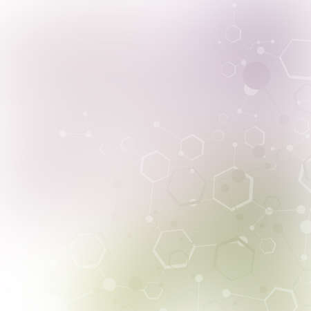 Molecular structure Stock Photo - 19736034
