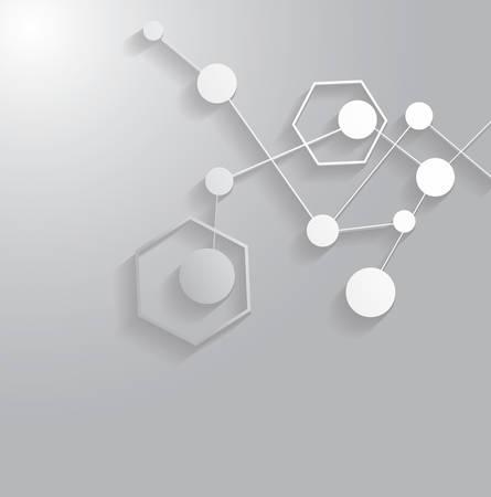 mediateur: Structure de la mol�cule.