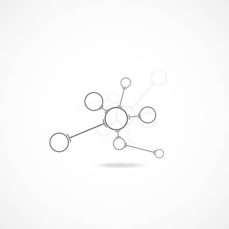 Abstract network communication infographics backgrounds, vector illustration