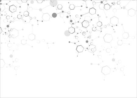 Las estructuras moleculares Foto de archivo - 23546467