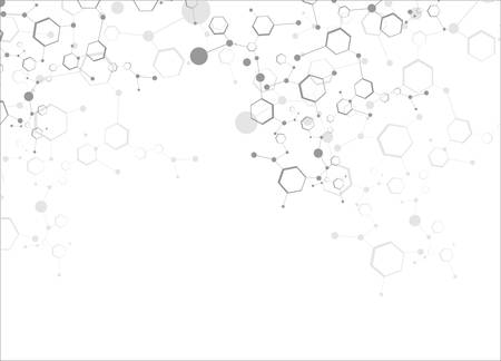 Molecular structures Ilustração