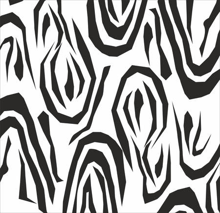 Abstract pattern vector background in black and white Vector