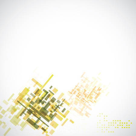 Technology abstract background, vector illustration over the white Vector