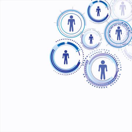 relaciones humanas: Conexi�n modelo Humano Vectores