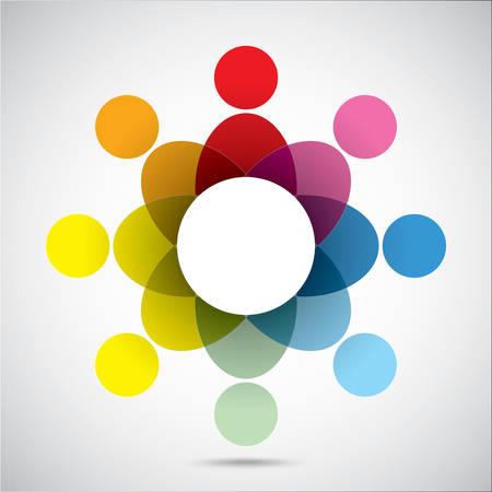 multi racial: Union symbol