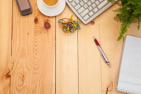articulos oficina: Lugar de trabajo de negocios con art�culos de oficina