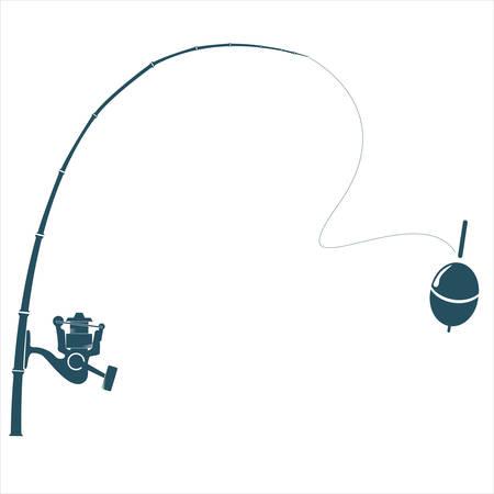 ardour: Fishing rod on the white backdrop.
