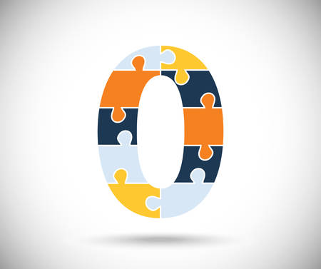 number zero: Number zero Illustration