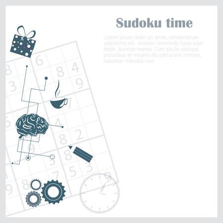 sudoku: Sudoku background