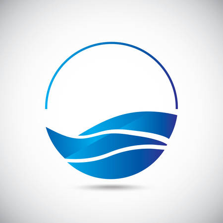 Design elements. Water icon