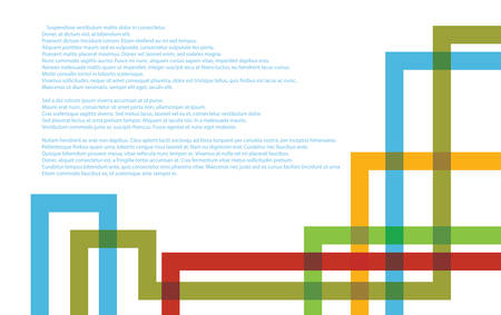 plexus: Abstract Technology background with colorful tube plexus Illustration
