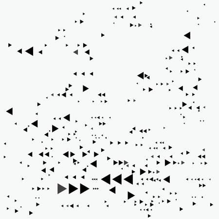 Fashion design print triangle pattern Vectores