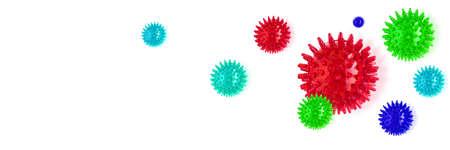 Abstract virus and coronavirus background. Medical and science headline.