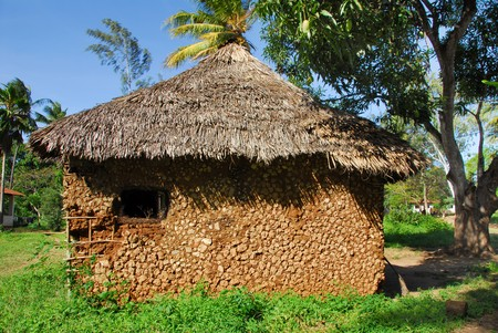 typical house African Stock Photo - 6892109