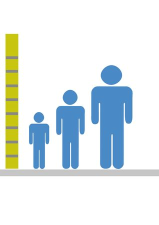 Children growing up in centimeters